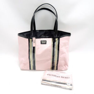 Victoria's Secret Large Pink Tote w/Matching Pouch